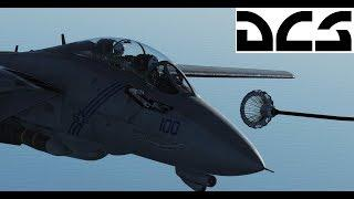 DCS F-14 Tomcat Air to Air Refueling Tutorial