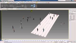 Populate Tutorial In 3dsmax 2014 Thai Part 1