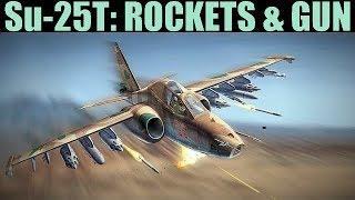 Su-25T Frogfoot: Rockets & Gun Tutorial | DCS WORLD