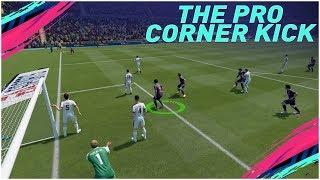 FIFA 19 NEW OVERPOWERED CORNER KICK TECHNIQUE - THE MANUAL CORNER KICK TUTORIAL - SCORE LIKE A PRO