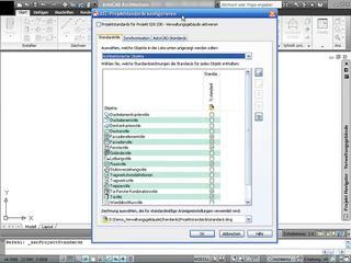AutoCAD Architecture - Tutorial 11/15 - Projektstandards