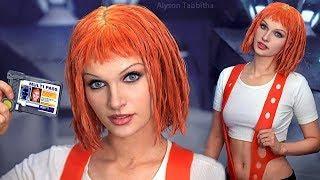 Leeloo (Fifth Element) Makeup / Hair / Costume - Cosplay Tutorial