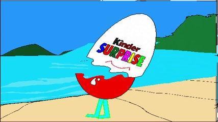 kinder eggs frozen Cartoon Surprise eggs play doh funny Videos