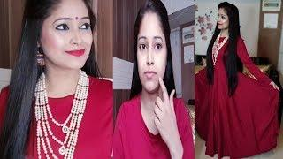 How to do makeup step by step|Festive season Indian Makeup Tutorial|Be Natural