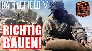 Bau auf, bau auf: Befestigungen! Battlefield 5 Fortification Tutorial!