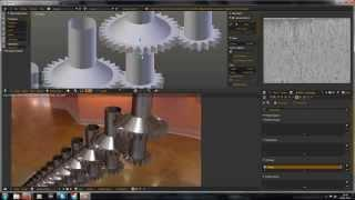 How To Make Endless Rotating Gears In Blender-english Tutorial