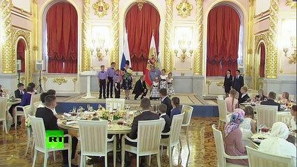 Baby Girl Trolls President Putin - Hot clip - Funny clip