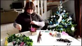 Réaliser Un Composition Florale Avec Une Barquette En Bois