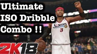 NBA 2K18 Ultimate Dribble Tutorial + Best Momentum Crossover Dribble. 2K18 How to become Dribble God