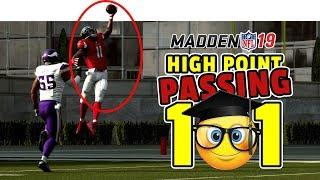 How to pass in Madden 19 - High Point Passing Tutorial