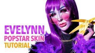 K/DA Evelynn Popstar Skin Cosplay Tutorial