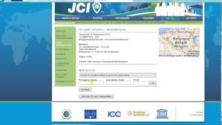 JCI Tutorial - How To Set The Next Year's President On Jci.cc