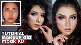 Makeup Tutorial Ala DIVA KD | Full Makeup Bold Cetarr Untuk Manggung