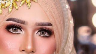 Cara Buat Makeup Mata Cut Crease Kekinian Trend 2019 | Full Tutorial | No Skip..