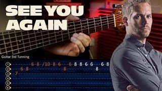 See You Again - Wiz Khalifa FAST AND FURIOUS Guitar Tutorial TABS | Cover Guitarra Christianvib