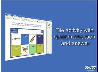 Lesson Activity Toolkit Video Tutorial - Tiles random select