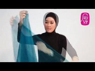 Hijab Fashion Style Tutorial 6