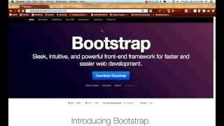 Twitter Bootstrap Tutorials: Getting Started - Lesson 1