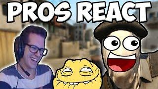 CS:GO PRO PLAYERS REACT TO FUNNY VIDEOS!