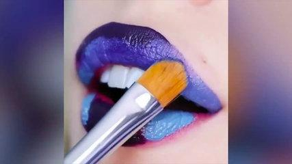12 Amazing Lip Art Ideas and New Lipstick Tutorials Jun 2018