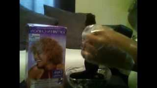 How To Dye Brazilian Hair Extensions Tutorial #Kis