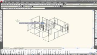 Learn AutoCAD -برنامج تعليم أوتوكاد - الرسم ثلاثى الأبعاد