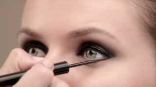 How To Makeup Tutorial By Lancôme, For A French Smoky Eye Look With Artliner 24H