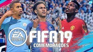FIFA 19 - TUTORIAL DAS NOVAS COMEMORAÇÕES !!
