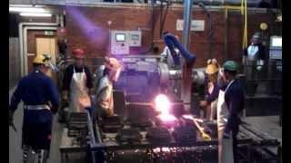 Ingjuta - Arbetskraftsförsörjning Till Gjuteriindustrin