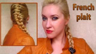French Braid Hair Tutorial Everyday Hairstyles For School Work Office  Lara Croft How To