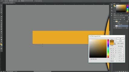 Photoshop Tutorial | SpeedArt Simple & Clean Banner/Header