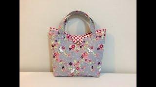 #DIY Cute Mini Handbag | Tote Bag | Tutorial