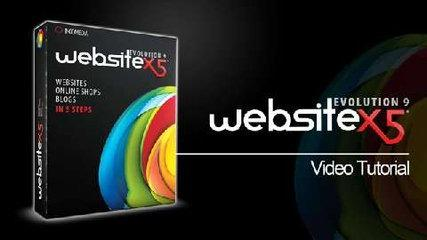 WebSite X5 Tutorial