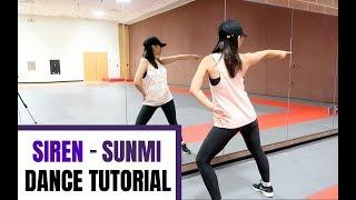 SUNMI(선미) _ Siren(사이렌) _ Lisa Rhee Dance Tutorial