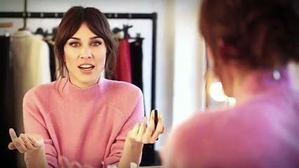 Alexa Chung's Make Up Tutorial - How To Get Her Signature Feline Flick