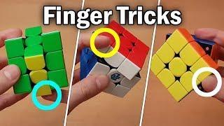 Rubik's Cube: Finger Tricks Tutorial (Beginner to Advanced)
