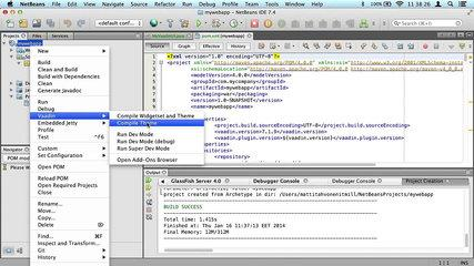 Tutorial: starting a project with Vaadin NetBeans plugin