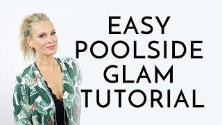 Poolside Makeup Tutorial Full Of SPF!! | Molly Sims