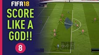 FIFA 18 BEST FINISHING TUTORIAL!! SHOOTING GUIDE AND TIPS - FIFA 18 ACADEMY PART 8