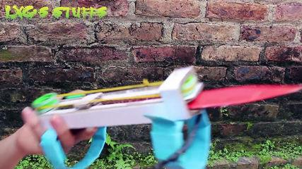 Paper Electric Hidden Blades Tutorial Dual Action Assassin's Creed