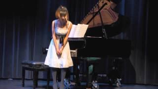Yunha's Piano Recital   Croatian Rhapsody   December 2013