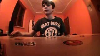 Croatian Fingerboard Scene Tutorials- Nollie Bigspin Kickflip