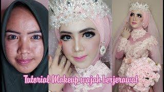 Tutorial makeup wajah berjerawat | Rindynellakrisna