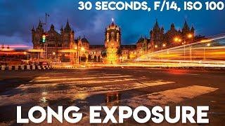 Long Exposure Photography Tutorial!