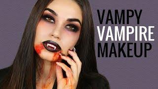Vampire Halloween Makeup Tutorial | Easy Halloween Costume 2017 | Eman