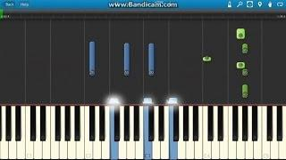 Frozen Soundtrack Indina Menzel - Let It Go Piano Tutorial (How To Play On Synthesia)