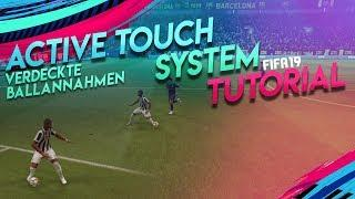 FIFA 19 Tutorial - NEUE verdeckte Ballannahmen / Skills | Active Touch System Feature