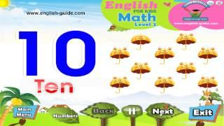 تعليم الانجليزية للاطفال - تعليم العد Counting