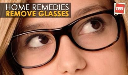 Remove Glasses Naturally - Home Remedies | Health Tips