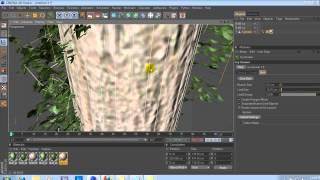 Cinema 4D -  Ivy Grower Plugin Tutorial
